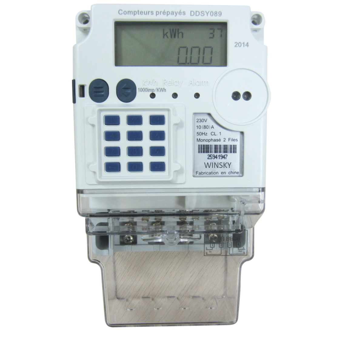 Ddsy089 Multi Functional Single Phase Meter Energy Winsky How To Wire Kwh Electrical Technology Sdsdssdsd